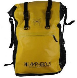 Amphibious Overland Waterproof Backpack 30L Yellow