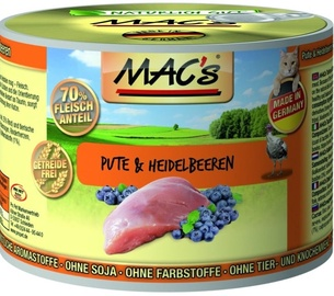 Mac's Turkey & Blueberries 200g