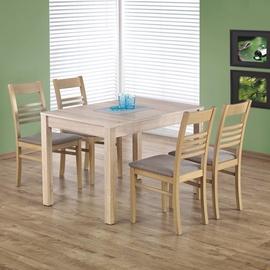 Pusdienu galds Halmar Maurycy Sonoma Oak, 1180 - 1580x750x760 mm