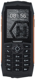 MyPhone HAMMER 3 Plus Dual Black/Orange