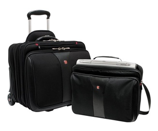 "Wenger Patriot 2in1 17"" Laptop Bag And Rolling Case"