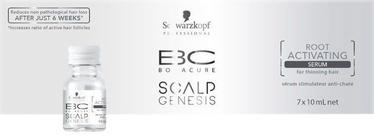Schwarzkopf Bonacure Scalp Genesis Root Activating Serum 7x10 70 ml