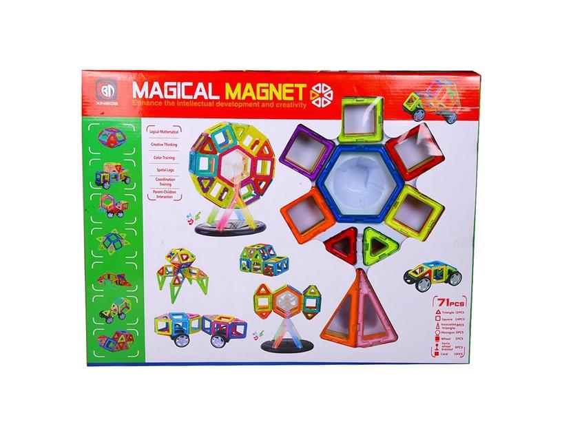 Konstruktor Magical Magnet, 71 tk