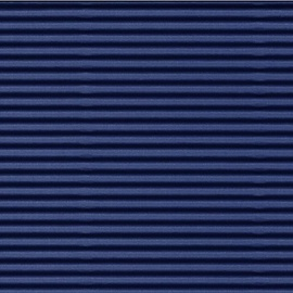 Folia Corrugated Cardboard 50x70cm Dark Blue