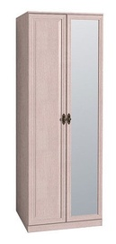 Glazov Montpellier 2 Wardrobe w/ Mirror Light Oak
