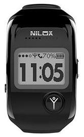 Išmanusis laikrodis Nilox Bodyguard, juoda