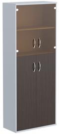 Skyland Imago Office Cabinet CT-1.7 Wenge Magic/Metallic