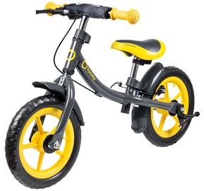 Vaikiškas dviratis Lionelo Balance Bike DAN PLUS Yellow