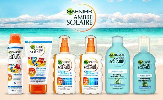 Garnier Ambre Solaire Resisto Kids High Protection Moisturising Lotion SPF30 200ml