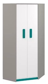 Spinta ML Meble Q 01 Turquoise, 82x82x199 cm