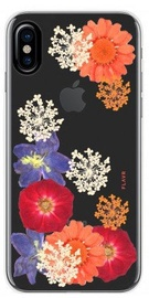 Flavr Real 3D Flowers Premium Case For Apple iPhone X Amelia