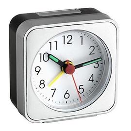 TFA Dostmann Alarm Clock 60.1019 Silver