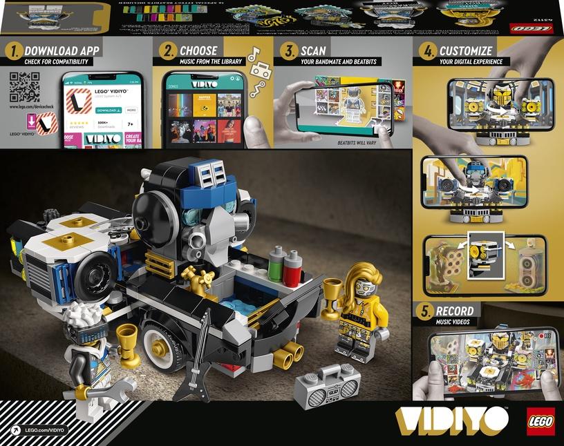 Конструктор LEGO VIDIYO Robo HipHop Car 43112, 387 шт.