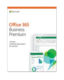 Microsoft Office 365 Business Premium Retail 1-Year Latvian License Medialess