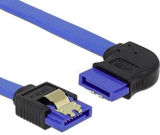 Delock Cable Blue SATA 6 Gb/s 0.7m 84992