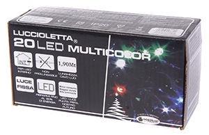 Giocoplast Natale LED Lights 20 Multi Colour