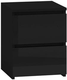 Naktinis staliukas Top E Shop M2 Malwa Black Gloss