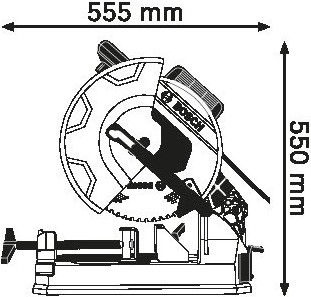 Bosch GCD 12 JL Circular Saw