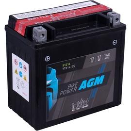 Аккумулятор IntAct YTX14-BS, 12 В, 12 Ач, 140 а
