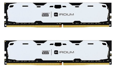 GoodRam IRIDIUM White 16GB 2400MHz CL15 DDR4 DIMM KIT OF 2 IR-W2400D464L15S/16GDC