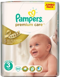 Pampers Premium Care S3 80