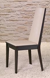 Kėdė Halmar Vincente, juodos ir smėlio spalvų