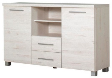 Bodzio Chest Of Drawers Panama PA12 Pearl Sonoma Oak