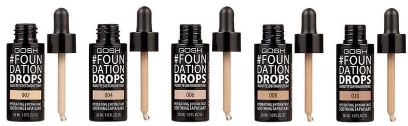 Gosh Foundation Drops 30ml 08