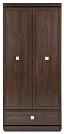 Black Red White Oregon Wardrobe Canterbury Oak