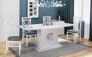 Halmar Fran Dining Table White