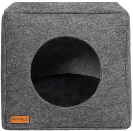 Myanimaly Felt Pet Cave Black