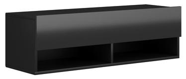 TV galds Vivaldi Meble, melna, 1000x310x300 mm