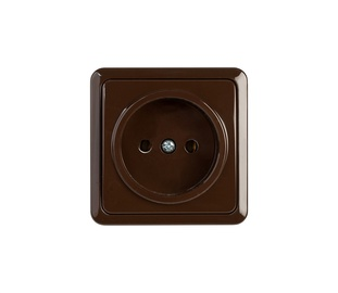 Kištukinis lizdas Vilma SL+250, rudos spalvos