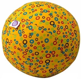 BubaBloon Balloon Ball Circles Print Yellow