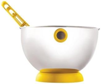 ViceVersa Kogel Mogel Bowl + Whisk Set Yellow