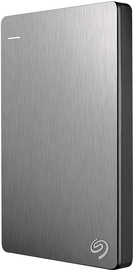 Жесткий диск Seagate Backup Plus Slim, HDD, 1 TB, серебристый