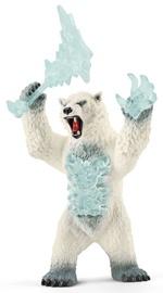 Schleich Eldrador Blizzard Bear With Weapon 42510