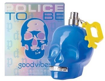 Tualetes ūdens Police To Be GoodVibes EDT, 125 ml