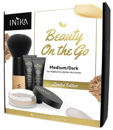Inika Beauty On The Go Set,  11 g, Medium/Dark