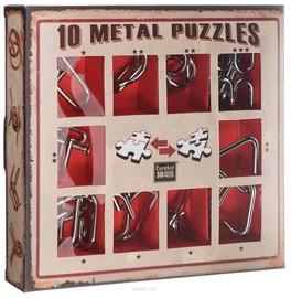 Lauamäng Eureka! 10 Metal Puzzle Red