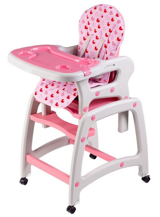 EcoToys Baby Chair 3-in-1 Pink