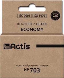 Кассета для принтера Actis Cartridge KH-703BKR For HP 15ml Black