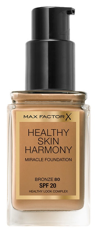 Max Factor Healthy Skin Harmony Miracle Foundation SPF20 30ml 80