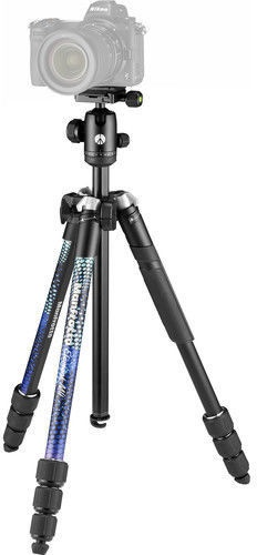 Manfrotto Element MII Aluminum Tripod With Ball Head Blue