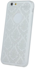 Mocco Ornament Back Case For Samsung Galaxy J7 J730 White