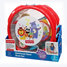 Fisher Price Rainforest Band Drum Set 380035