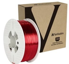 Расходные материалы для 3D принтера Verbatim PET-G, красный