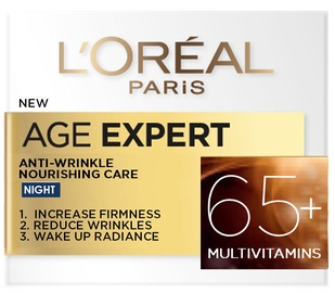 Крем для лица L´Oreal Paris Age Expert Anti - Wrinkle Nourishing Care 65+, 50 мл