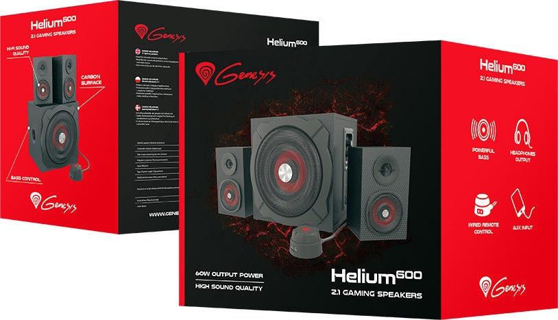 Kompiuterinės kolonėlės Natec Genesis Helium 600