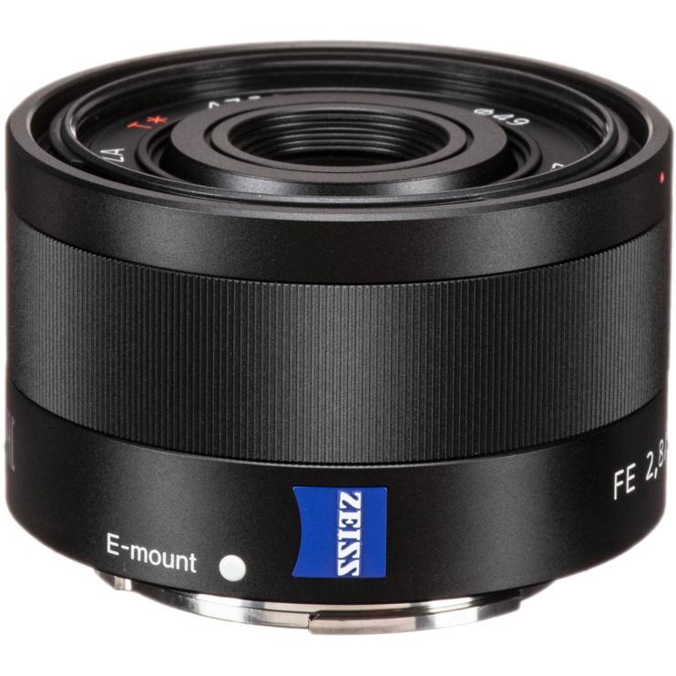 Objektiiv Sony 35/2.8 Carl Zeiss T* ZA, 120 g